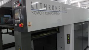 Komori G40 Huv Baskı Makinesi